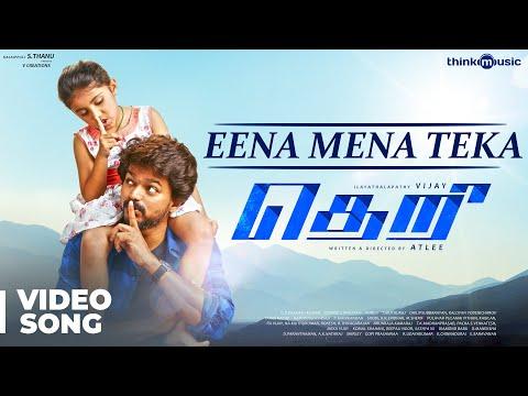Eena Meena Teeka Video Song With Lyrics, Theri Movie Song
