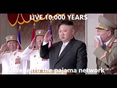 KPAGF NORTH KOREA MILITARY MARCHING PARADE ONE FULL HOUR WITH MUSIC live 10,000 years