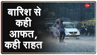 Mumbai में लगातार तीसरे दिन तेज़ बारिश से आफत; फिर हुई Water Logging | Delhi Rainfall - ZEENEWS