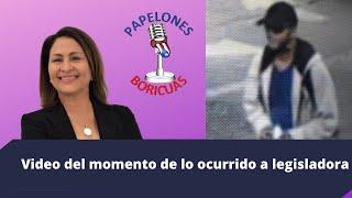 Videode lo ocurrido a  legisladora Ana Esther Ponce