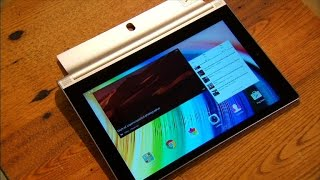 Lenovo Yoga Tablet 2 - Solid tablet design hindered by so-so performance