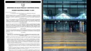 El Ministerio de Salud emitió Acuerdo Ministerial