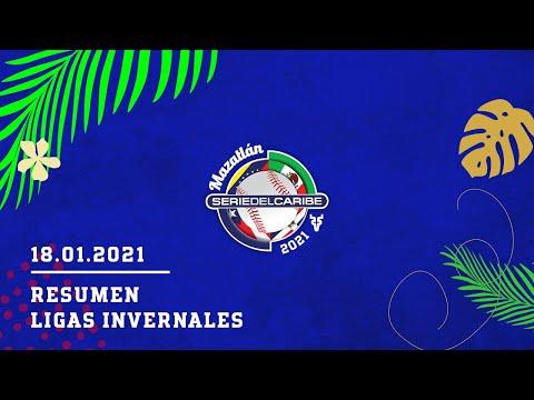 CAMINO A MAZATLÁN 2021 | RESUMEN LIGAS INVERNALES 18/01/2021