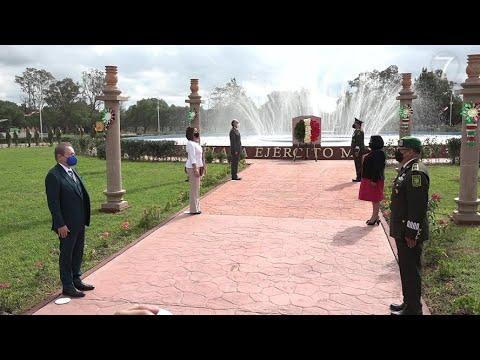 Autoridades estatales presiden celebración del 174 Aniversario de la Gesta de los Niños Héroes.
