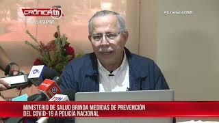 MINSA brinda medidas de prevención por coronavirus a policía Nacional – Nicaragua
