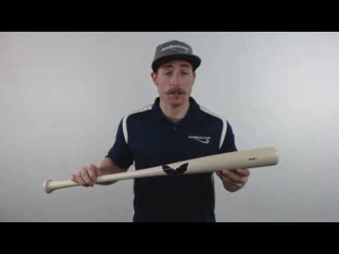 Sam Bat Maple Wood Baseball Bat: MMO Natural Adult