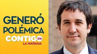 """Diputado Ramírez: """"Mañalich cometió errores de buena fe"""" - Contigo En La Mañana"""