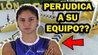 La estrategia de Doris no ayuda al equipo - Exatlón México