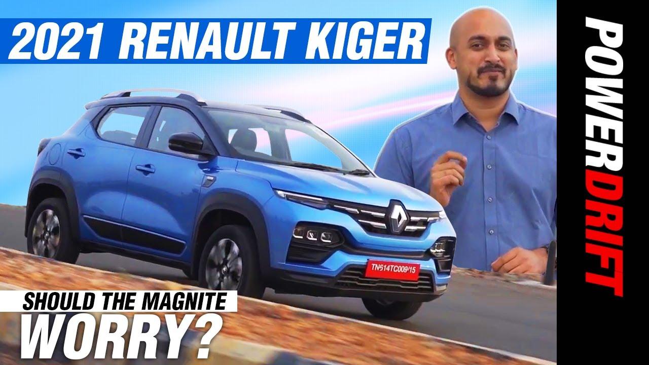 2021 ರೆನಾಲ್ಟ್ kiger | ನಿಸ್ಸಾನ್ ಮ್ಯಾಗ್ನೈಟ್ rival driven! | powerdrift