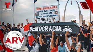 Miles de dominicanos protestan en contra de la corrupción y exigen un cambio para el país