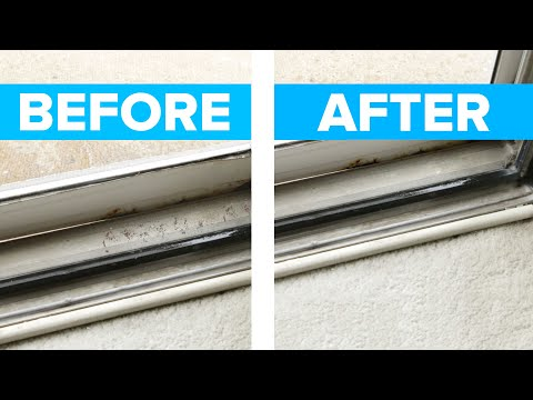 Easy Sliding Door & Window Track Cleaner