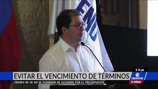 Fiscal Barbosa propuso crear mecanismo que acabe con vencimiento de términos
