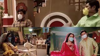 Bhabhi ji Garh Pe hain   Aasif Shaikh, Shubhangi Atre, and the cast of show shares upcoming scene - TELLYCHAKKAR