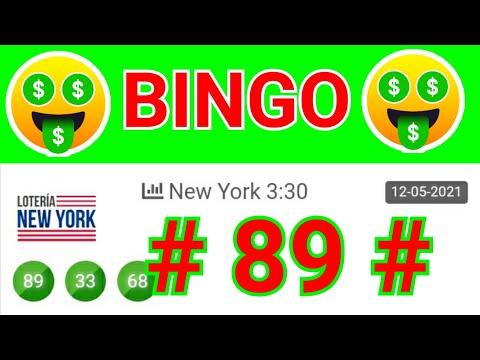 SORTEOS de HOY....!! BINGO hoy (( 89 )) RESULTADOS loteria NEW YORK TARDE / NÚMEROS GANADORES de HOY