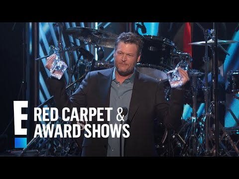 connectYoutube - Blake Shelton accepts The People's Choice award for