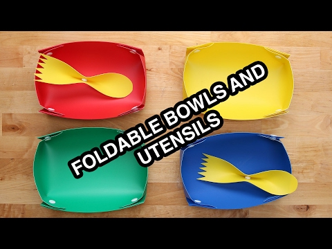 Snap And Go Bowls and Utensils