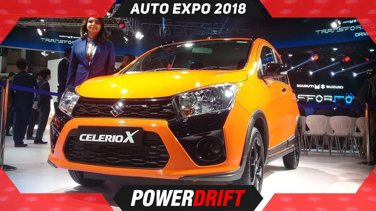 Maruti Celerio X @ Auto Expo 2018 : PowerDrift