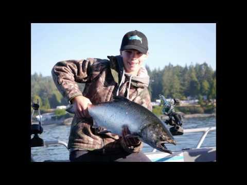 Sooke salmon fishing