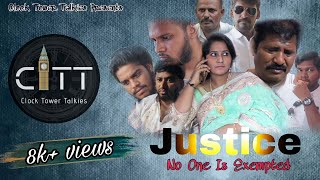 Justice Telugu Latest Short film 2020 || Moses | Vinod Kumar | Darshan|| Clock Tower Talkies - YOUTUBE