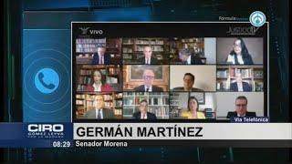 Debe haber consecuencias penales en caso de Ley Bonilla: Germán Martínez