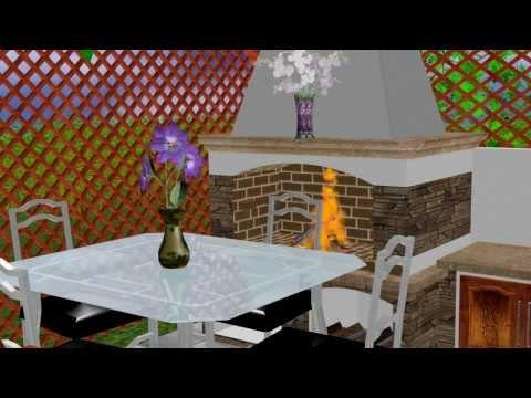 Ja spravím 3D model + animáciu nábytku, domu, bytu