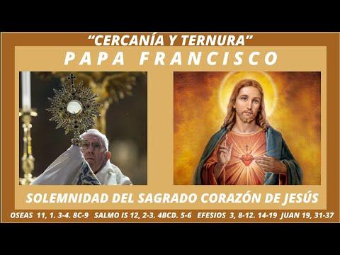 PAPA FRANCISCO. SOLEMNIDAD DEL SAGRADO CORAZÓN DE JESÚS