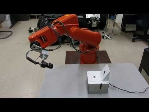Double PSD Approach Controller for Industrial Robot Calibration