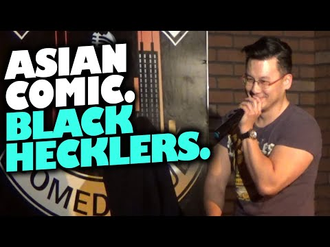 connectYoutube - Asian Comedian Destroys Black Comedy Club (17+ only) HECKLER FILES!