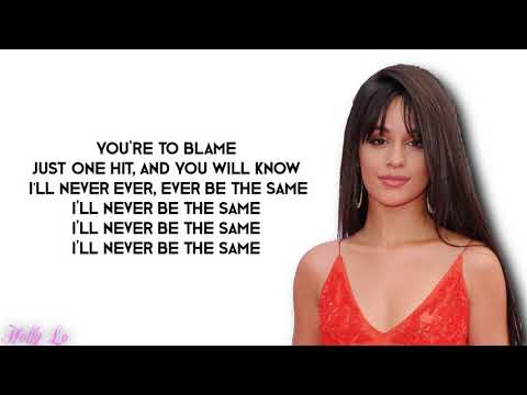 connectYoutube - Camila Cabello - Never Be The Same (with LYRICS)
