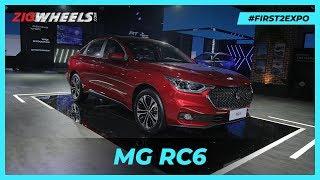 MG RC6 2020 India | Split Personality! | ZigWheels.com