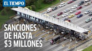 Entre el 6 y 10 de agosto habrá plan candado en carreteras de Cundinamarca