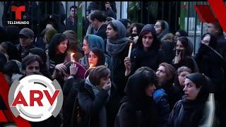 Miles de iraquíes exigen la renuncia de su líder por derribar avión ucraniano   Telemundo