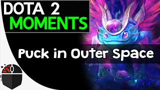 Dota 2 Moments - Puck in Outer Space