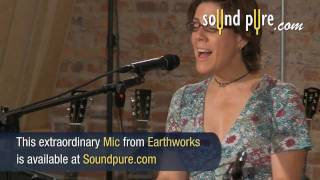 Earthworks SR40V Vocal Microphone Demonstration