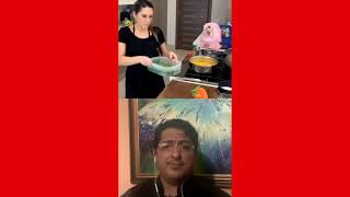 LA JEFA Y EL CHEF : Crema de zanahoria al curry con camarones
