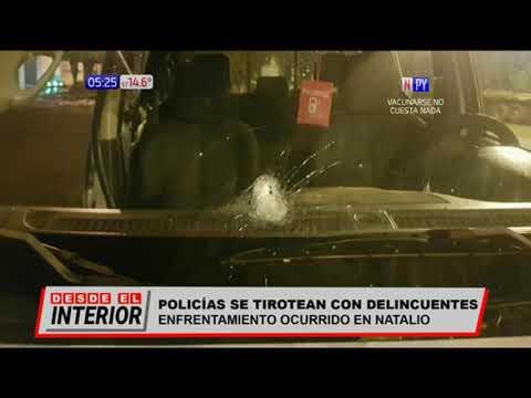 Persecución y balacera en Itapúa