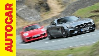 All-new Mercedes AMG GT S vs Porsche 911 GTS head-to-head