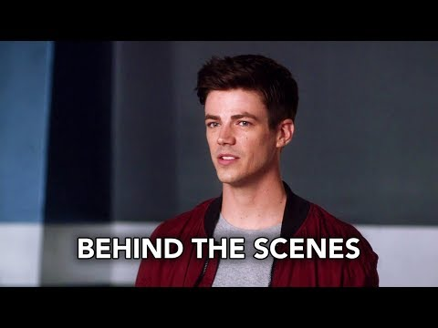 The Flash 4x07 Behind the Scenes
