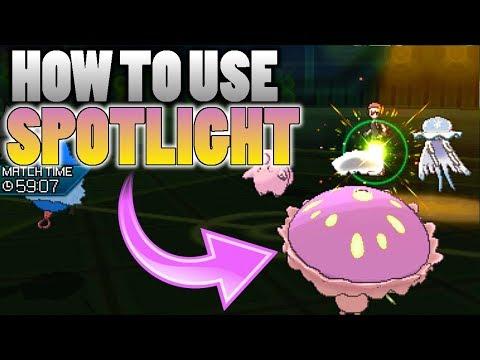 connectYoutube - How To Use Shiinotic's Spotlight In Pokemon Ultra Sun and Moon