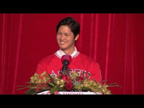 Angels formally introduce Shohei Ohtani