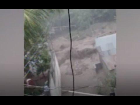 Inundaciones afectan al Departamento de Chiquimula
