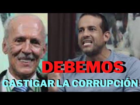 """""""LA CORRUPCIÓN DEBE SER CASTIGADA, NO PROTEGEMOS A NADIE"""" SE DEBE INVESTIGAR, DICE FERNANDO CAMACHO."""