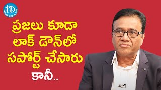 Pebs Pennar MD PV Rao about Implementation of Lock Down   Dil Se with Anjali   iDream Movies - IDREAMMOVIES