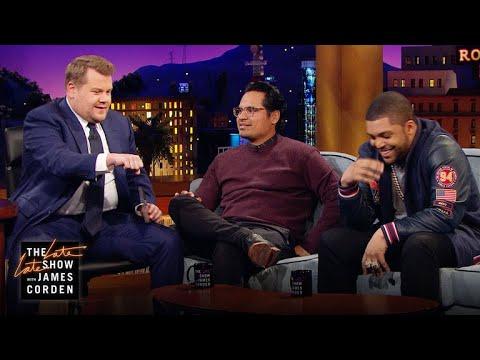 connectYoutube - O'Shea Jackson Jr., Michael Peña & James Corden Can't Ride Horses