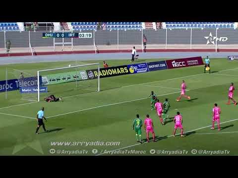 هدف الدفاع الحسني الجديدي1-0 إتحاد طنجة - بلال المگري