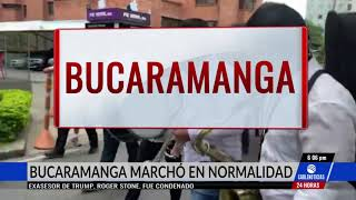 Así transcurrió la marchas de profesores en el territorio nacional