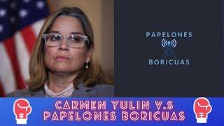 Carmen Yulin habla sobre los suministros y Papelones responde.