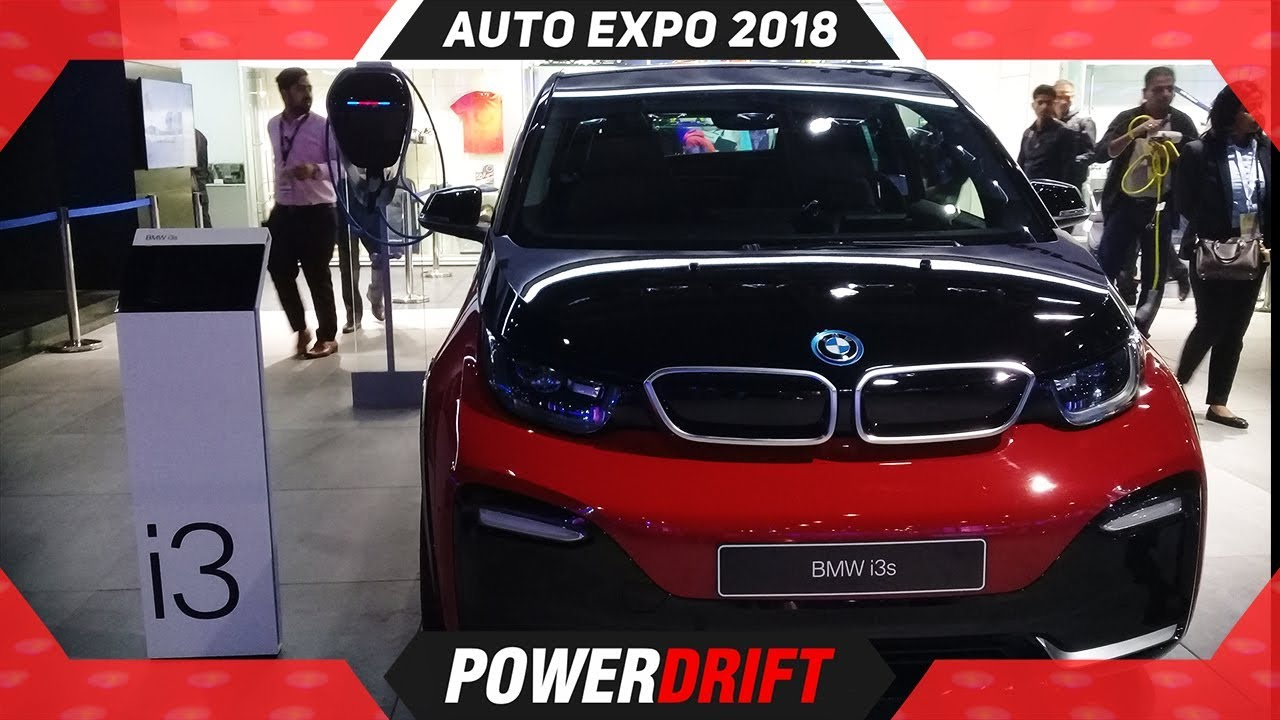 BMW i3s @ Auto Expo 2018 : PowerDrift