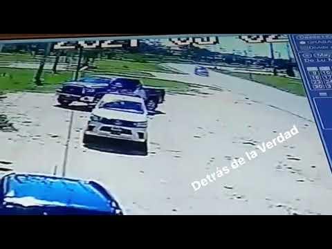 Mujer atropella a madre e hija, victimas denuncian encubrimiento de fiscalía y policíaingo en la zon