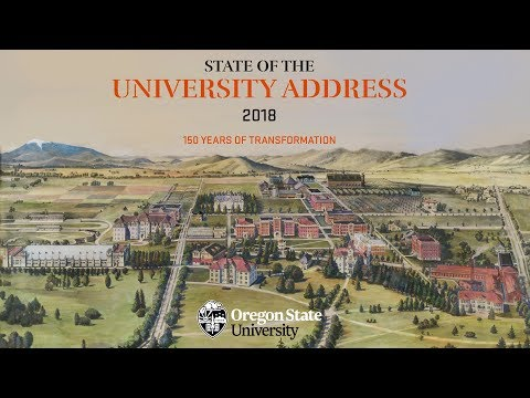 State of the University - 2018
